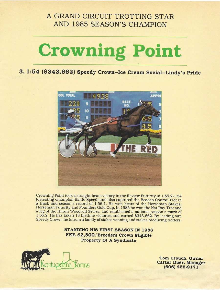 Crowning Point 1985