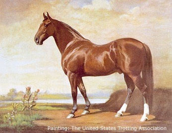 Hambletonian Painting